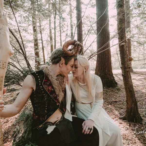 Fantasy Woodland Wedding