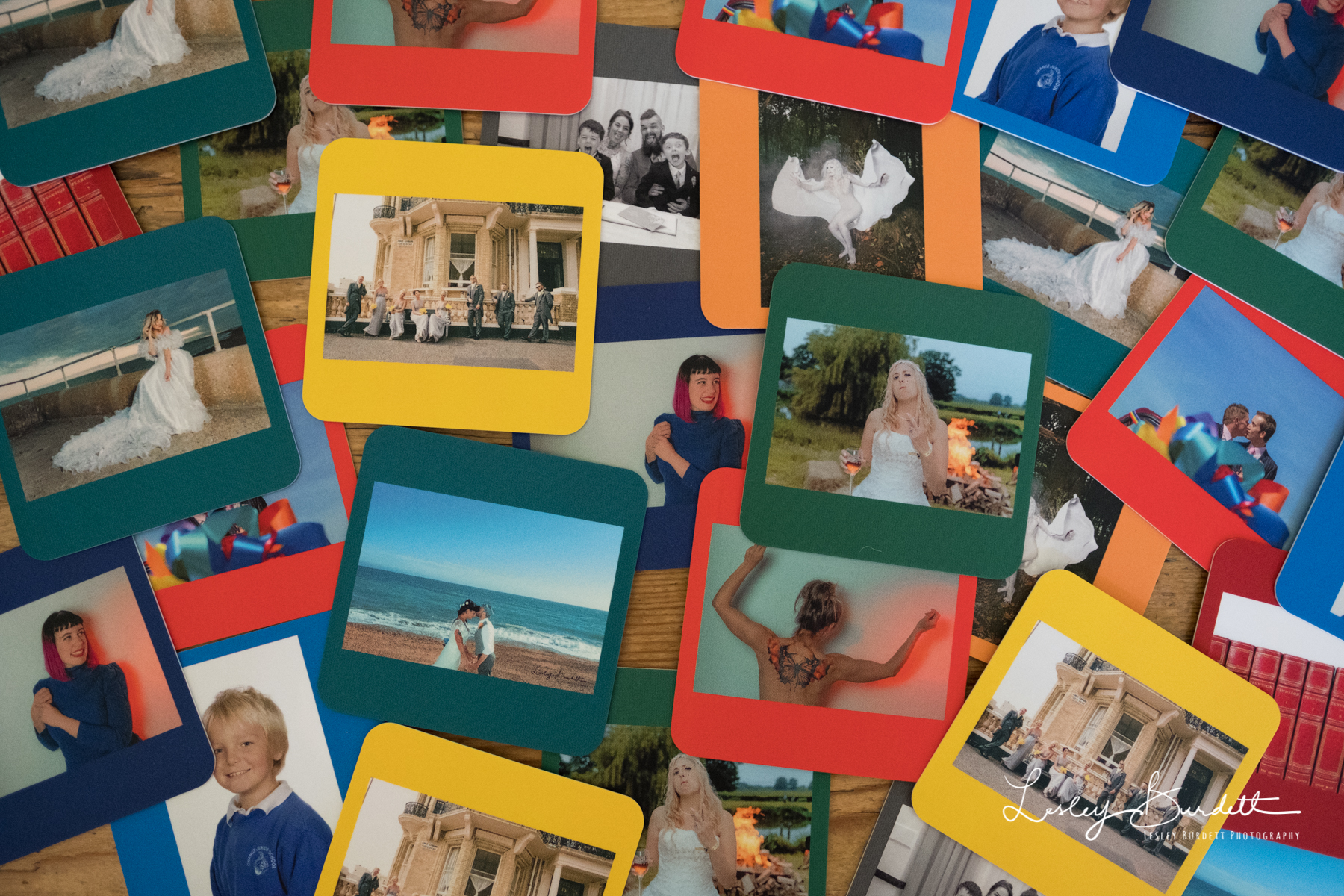Moo Business Cards - Lesley Burdett Photography