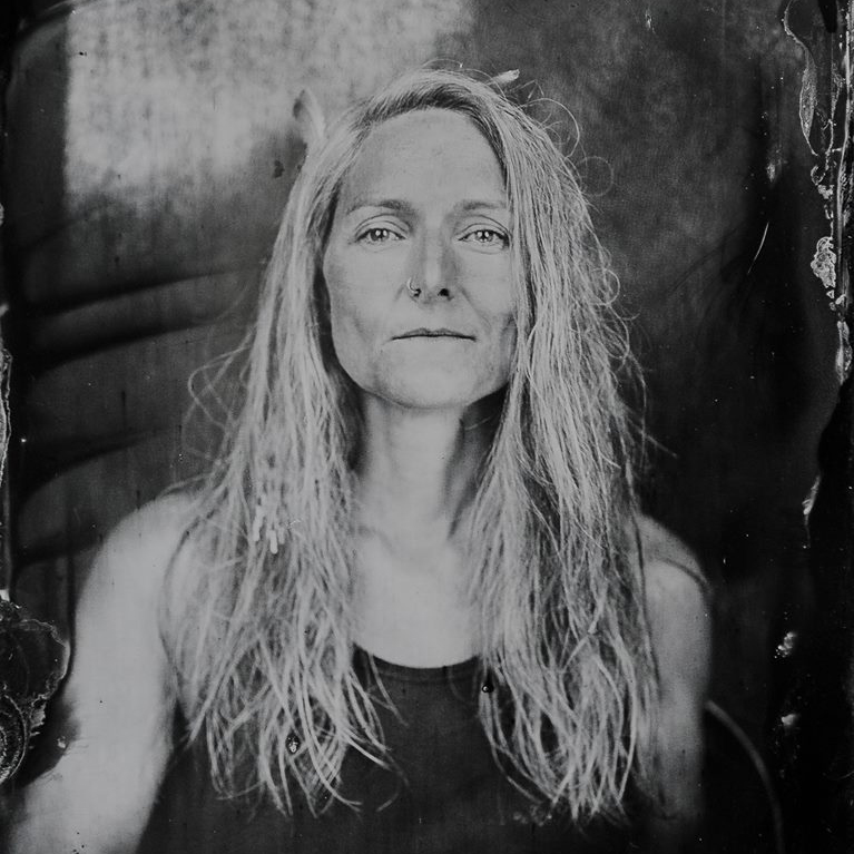 Tin Type Me by Angela Ward-Brown